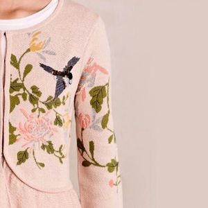 Anthropology Moth Winged Wonder Cardigan
